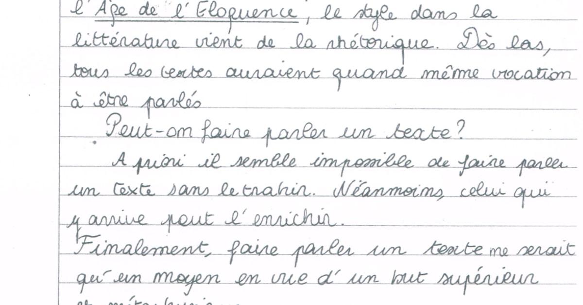 Comment Trouver Le Problème Philosophique D Un Texte ...